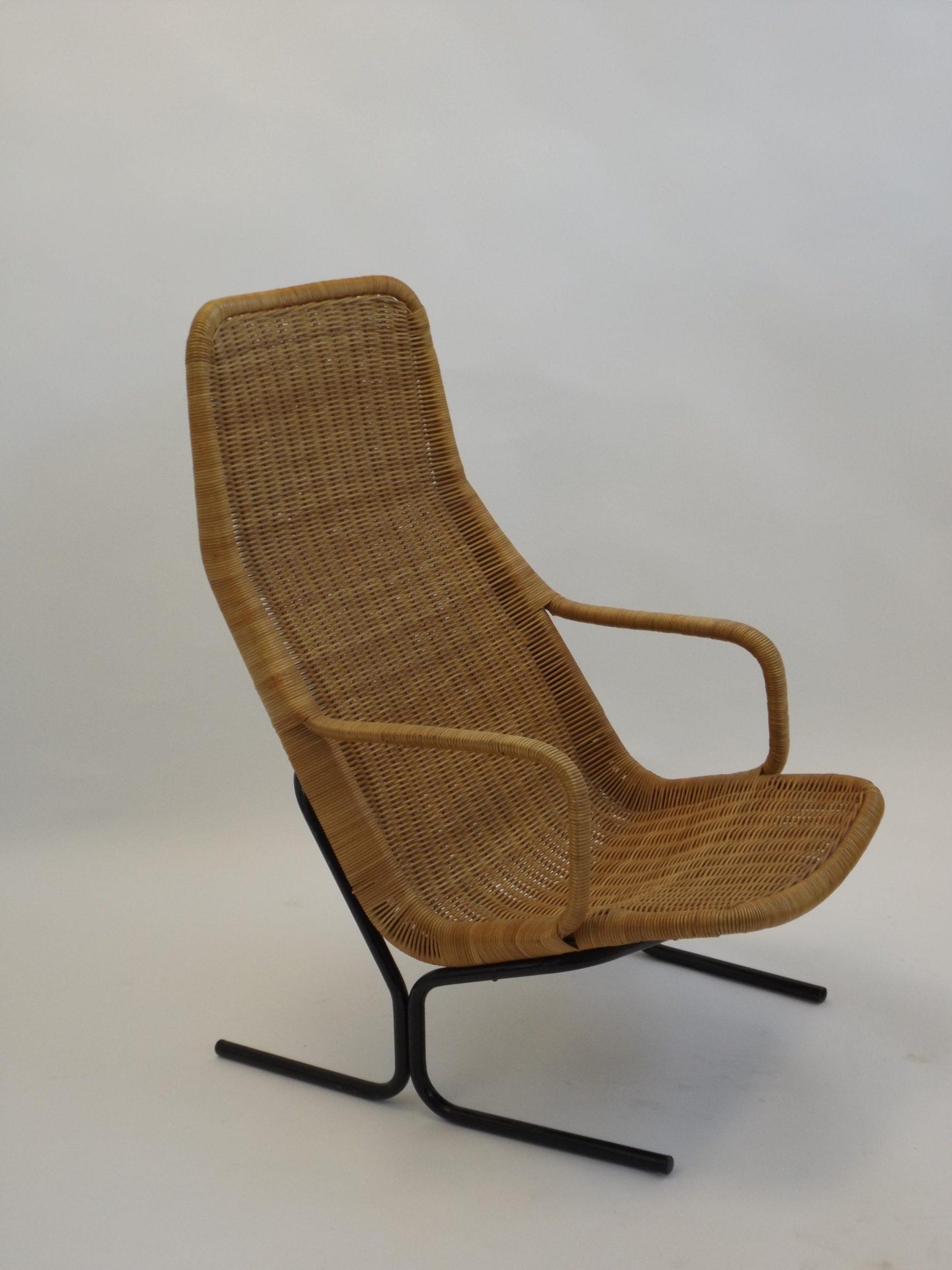 Rohé cane lounge chair