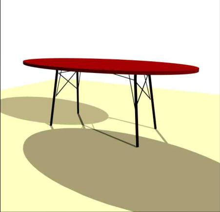 Ellips table