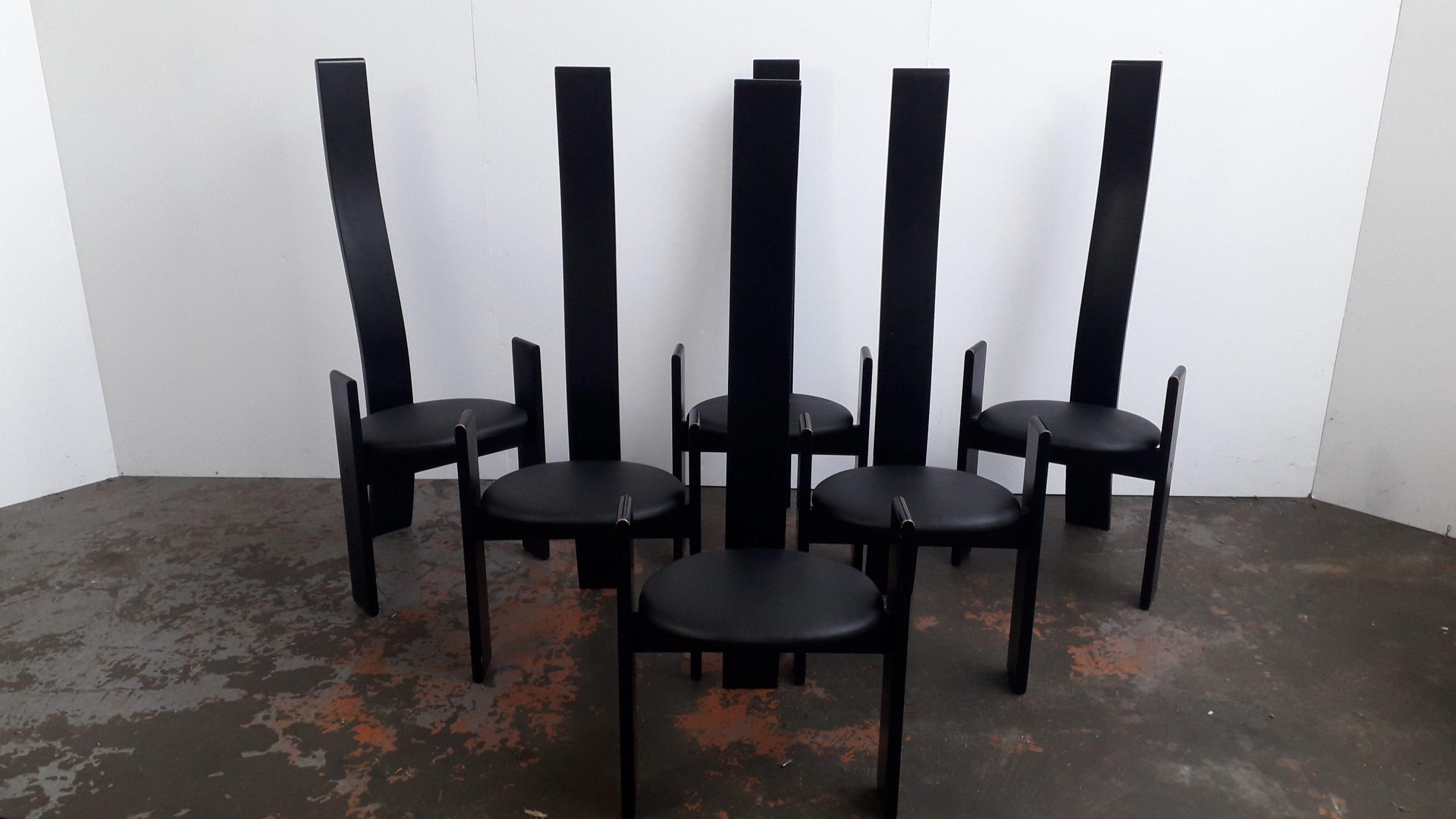 Golem chairs set of 6