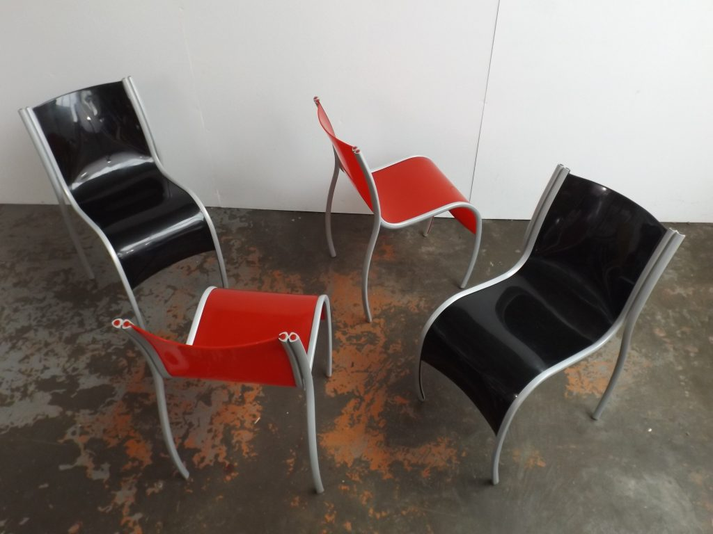 Plastic Fantastic chairs