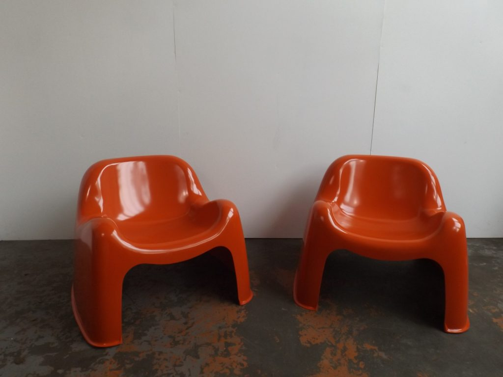 Toga chairs set of 2