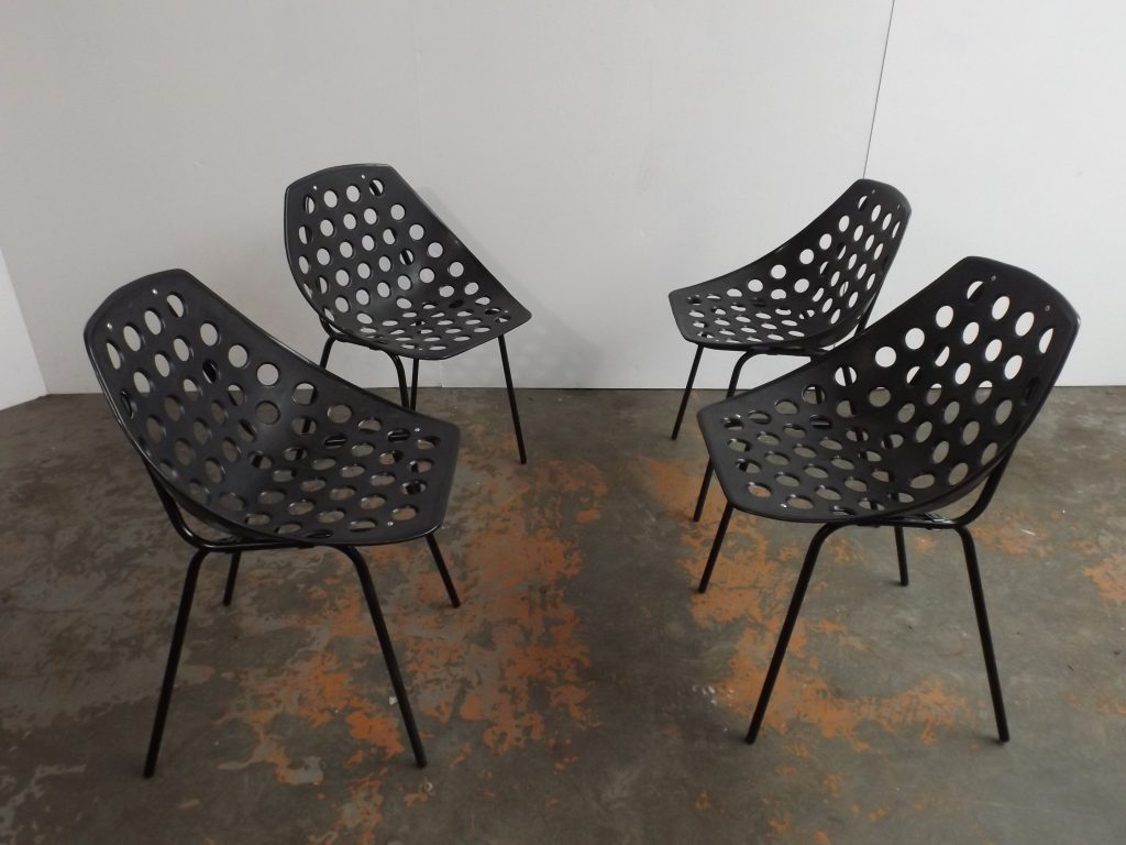 Set of 4  Deauville, Guariche chairs