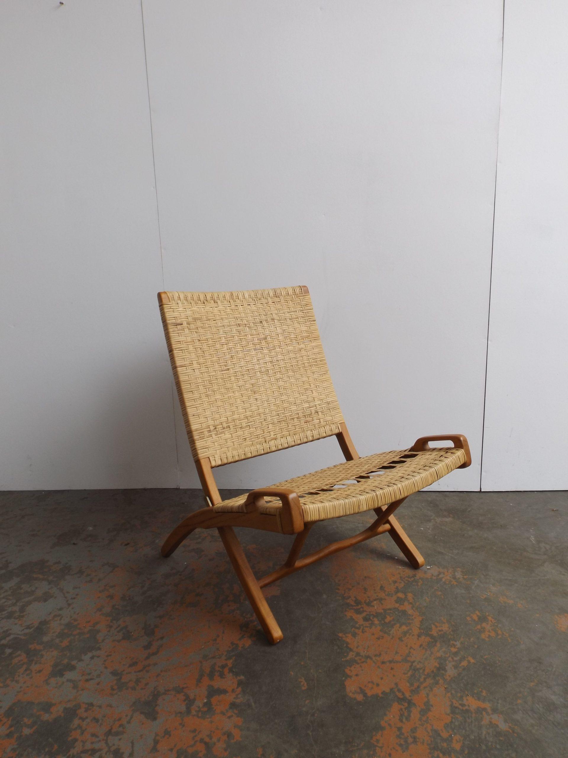 Hans Wegner Folding Lounge Chair