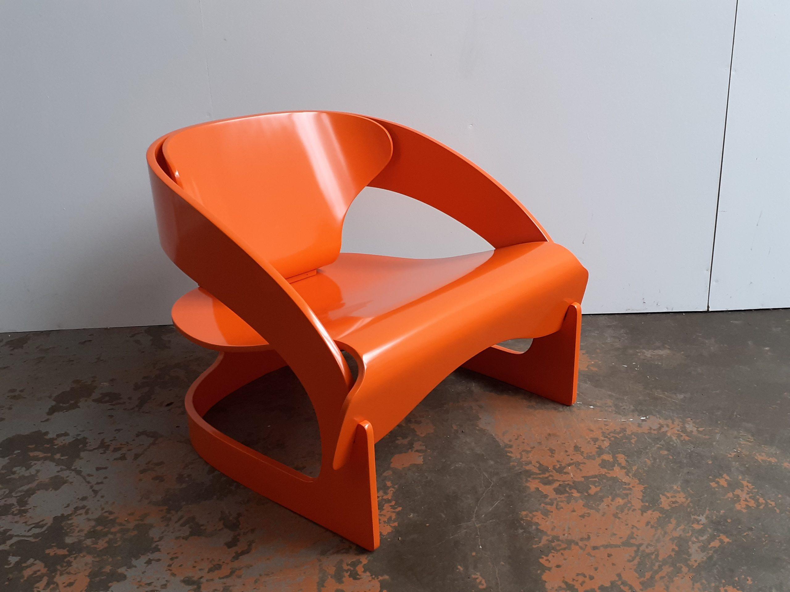 Joe Colombo fauteuil Kartell 4801