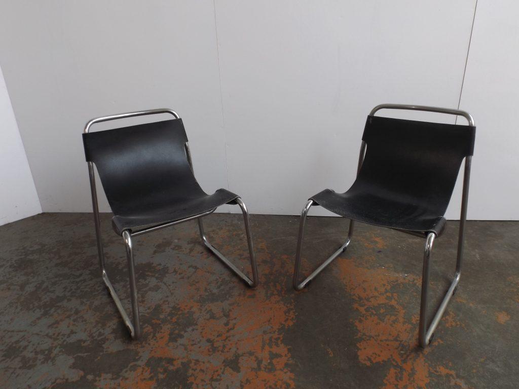 Set of 2 Tubular chairs